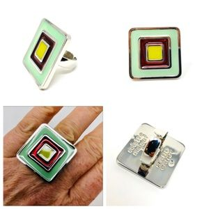 🆕 COLETTE MALOUF collector's fashion ring